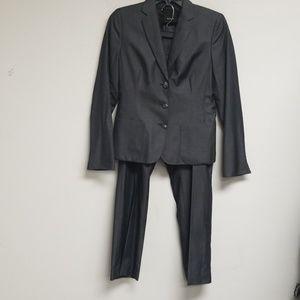 Akris Gray Suit Size 6